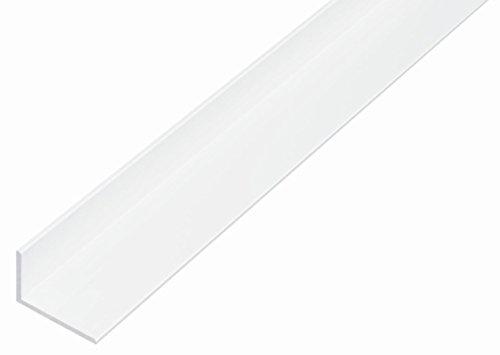 GAH-Alberts 479244 Winkelprofil-Kunststoff, 1000 x 25 x 20 mm, weiß