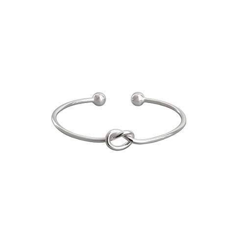 Armband, Dame-Armband-925 Liebes-Knoten-Armband Wilde einfache Knoten-Knoten-Armband Persönlichkeit überträgt Armband-Freundschaft-Armband Einfache Wind Armband Persönlichkeit Armband Temperament Gesc