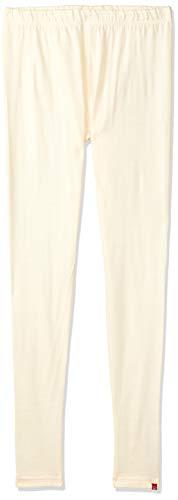 BIBA Women's Synthetic Legging Bottom (SWEATERS15141ecru_Ecru_L)
