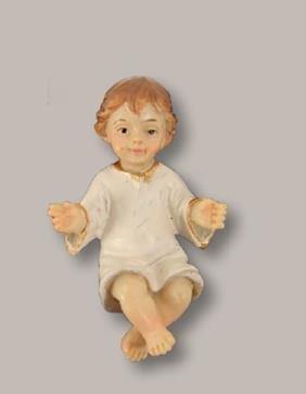 Unbekannt Miniatur Modell Figur Jesuskind lose Höhe 3cm geeignet für 8cm Figuren