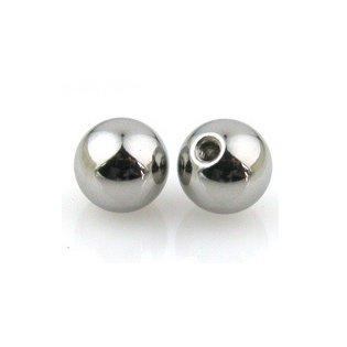 labret//tongue//ear Piercing 1,2 mm De 1.6 mm Repuesto Bolas Con Gemas belly//nipple//tragus
