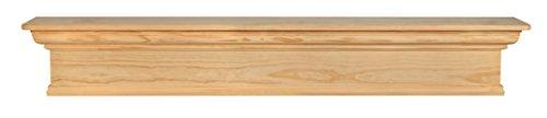 Pearl Mantels 420-72 Savannah Mantel Shelf, 72-Inch, Unfinished