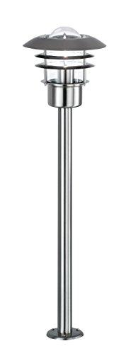 Action Standleuchte Outdoor line, 1-flammig, Serie Ferry, 1 x E27 maximale 46 W, Höhe: 80 cm, Durchmesser 22cm, Energieeffizienzklasse: geeignet für Leuchtmittel der EEK A++ bis E, Schutzklasse: IP 44