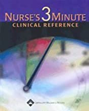 Nurses Three-Minute Clinical Reference (03) by Springhouse [Hardcover (2002)]