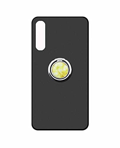 Sunrive Funda Compatible con Sony Xperia 10 III, Silicona Mate Gel Carcasa Case Bumper Anti-Arañazos Espalda Cover Anillo Kickstand 360 Grados Giratorio(Mármol Dorado) + 1 x Lápiz óptico