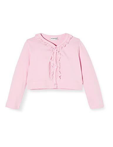 Salt & Pepper Baby-Mädchen 03218281 Sweatjacke, Rosa (Soft Pink 824), (Herstellergröße: 68)