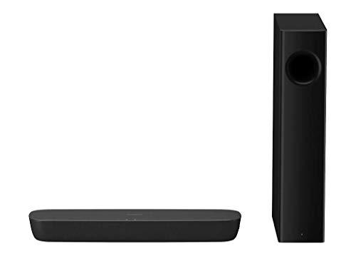Panasonic sc-htb250egk verkabelt u. Kabellos 2.1Kanal 120W Schwarz Lautsprecher Soundbar Soundbar (2.1-Kanal, 120Watt, DTS Digital Surround, Dolby Digital, 80W, 40W, verkabelt u. Kabellos)