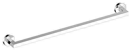 KEUCO Badetuchhalter aus Metall, hochglanz-verchromt, 80cm lang, für Badezimmer oder Sauna, für Handtücher, Wandmontage, Handtuchstange, Edition 90