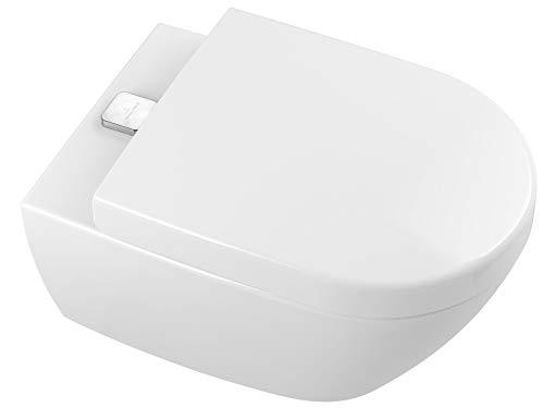 Villeroy & Boch SUBWAY 2.0 ViFresh Wand WC + WC Sitz Softclose QR DirectFlush Spülrandlos weiss