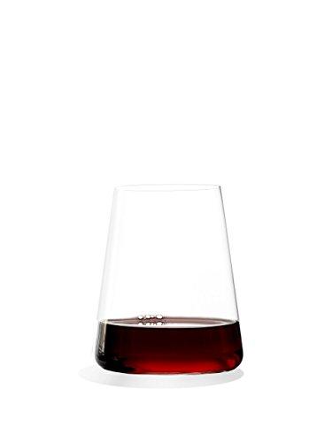 Stölzle Lausitz Power Weinbecher groß 515 ml, 6er Set Rotwein Becher, spülmaschinenfest, bleifreies Kristallglas, hochwertige Qualität, elegant und bruchbeständig