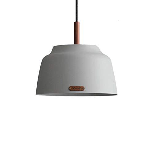 Suspension industrielle rétro suspension lampe suspension rétro métal noir abat-jour lustre café loft cuisine bar style plafonnier lustre (Couleur : Blanc, style : B)