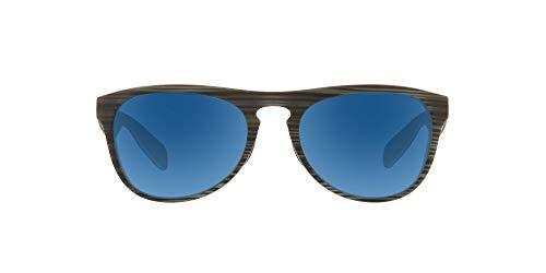 Native Eyewear Sanitas Polarized Sunglasses, Driftwood/White/Blue/Blue Reflex, 56 mm