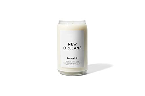 Homesick HSCA1-NOL-WH01 New Orleans Candle,