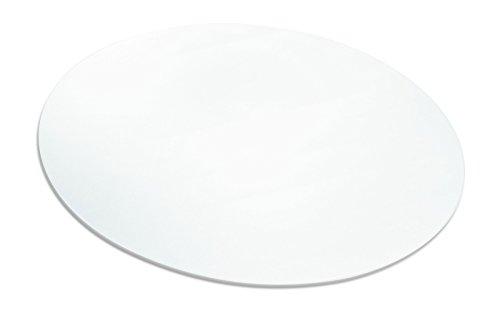 Ecogrip® pour sols durs - Tapis de protection de sol écologique - 16 tailles et formes au choix - Certifié TÜV transparent Durchmesser 120 cm Couleur : transparent.