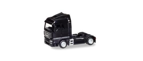 herpa 308335 Man TGX XLX Euro 6c Zugmaschine, schwarz