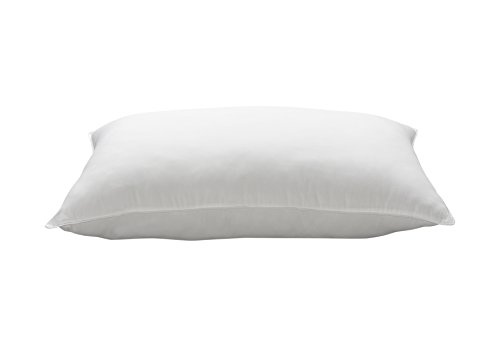 Ella Jayne Home King Size Bed Pillow- Single White Hotel Pillow- Gel Fiber Filled FIRM Gel Pillow with Hypoallergenic Classic Cover- Best Pillow For Side Sleepers & Back Sleepers