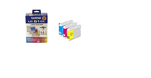 Price comparison product image Brother LC-51 Color Ink Cartridge Multipack,  Brother LC513PKS
