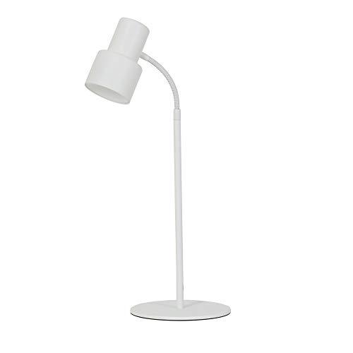 Light & Living Lampe de Table Design LED Ã ~ 15 x 55 cm Warden Blanc