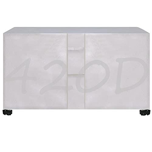 DKLE 90x90x90cmFundas para Muebles de Jardín Rectángulo, Funda Impermeable para Exteriores Funda Protectora para Muebles 420D Oxford Resistente al Polvo para Sofá de Jardín, Exterior, Mesa Sillas