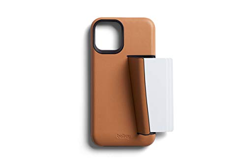 Bellroy Premium Slim Leather Phone Case - 3 Card (カードホルダー付き、iPhone12用) - Toffee
