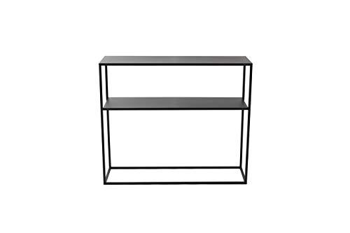 LIFA LIVING Console Meubles Industriel pour Salon, entrée Chambre ou Cuisine, Table d'appoint métal, Dimensions 100 x 30 x 85 cm