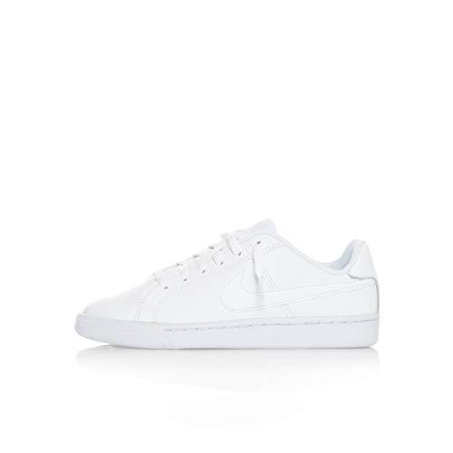 Nike Court Royale, Zapatillas de Deporte Para Niños, Blanco (White / White), 39 EU