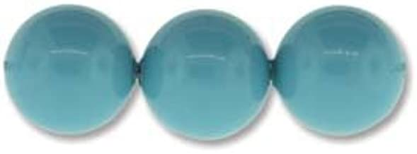 Swarovski Elements Crystal Pearl Beads 5810 8mm TURQUOISE (50)