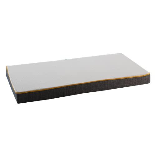 Comfy Line - Materasso Lettino 60x125 per Bambino Neonato Culla da Casa e Campeggio Alto 12 cm con Rivestimento Sfoderabile e Lavabile. Made in Italy