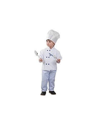 DISBACANAL Disfraz Cocinero niño - -, 2 años