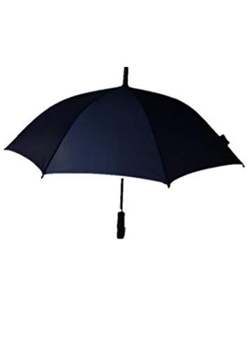 Paraguas con mango curvado, mango recto, paraguas de 23 pulgadas, 84 x 105 cm.