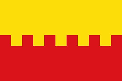 magFlags Bandera Large Municipio de Narros de Saldueña Castilla y León | Bandera Paisaje | 1.35m² | 90x150cm