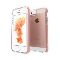 Gear4 Piccadilly Phone Case/Handyhülle Schutzhülle D30 Schutz kompatibel mit iPhone 5 5S - Rosa Gold
