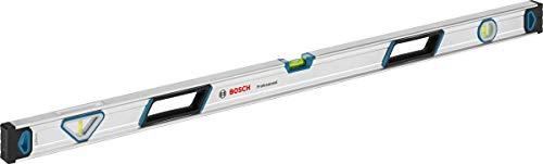Bosch Professional Wasserwaage 120 cm (rundum ablesbar, Aluminium Gehäuse, robuste Endkappen, in Blister)