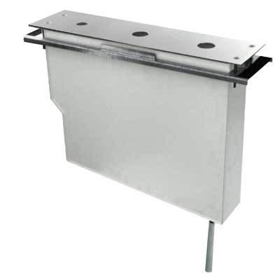 Drie armatuur 162245 – kit tank voor badkuip-plank eenvoudige montage boven. Zonder register