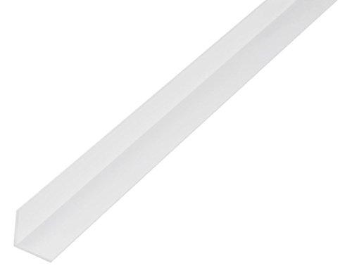 GAH-Alberts 479237 Winkelprofil-Kunststoff, weiß, 1000 x 20 x 20 mm