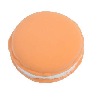 Xinger Simulatie nep macaron rekwisieten voedsel model Dessert tafel snack decoratie kunstmatige cake home decor voedsel fotografie decoratie, licht oranje, S 4,5 cm