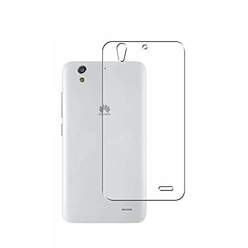 二枚 Sukix 背面保護フィルム 、 Huawei Ascend G620S 向けの TPU 保護フィルム 背面 フィルム スキンシール 背面保護 背面フィルム (非 ガラスフィルム 強化ガラス ガラス ケース カバー ) new version