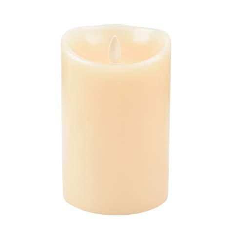 Luminara LED Flameless Candles, Luminara Flameless Real Wax Moving Wick LED Candle for...