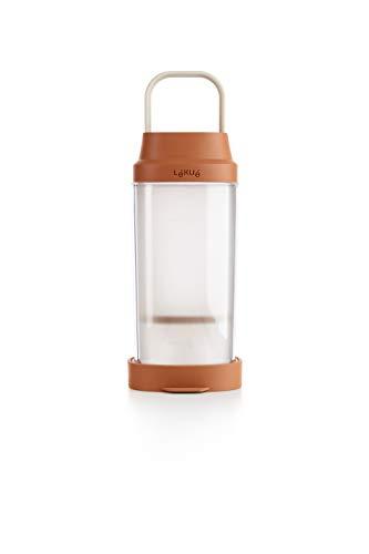 Lékué 8420460013099 Recipiente para elaborar bebidas vegetales caseras, 1000 milliliters, Plástico, Marrón
