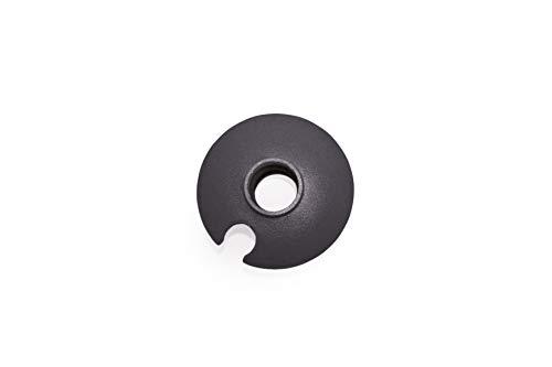 ALTUS B-2 - Roseta pequeña bastón, Unisex, Color Negro, Talla única