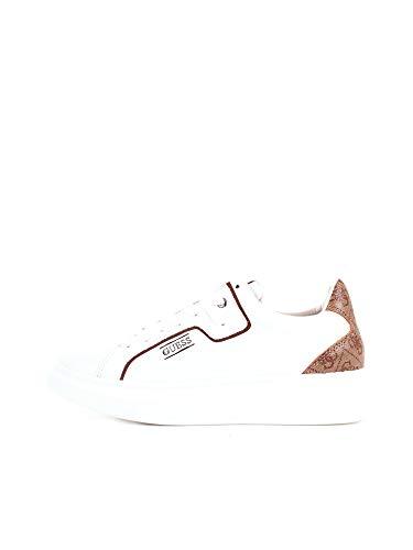 Guess FM6SAL Sneakers con Lacci in Pelle da Uomo