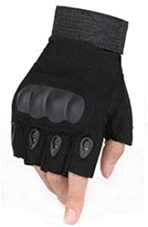 TOY 戦術軍ミリタリーハードナックルフル指手袋エアガンペイントボールシューティング戦闘作業フィンガーレスハーフフィンガー手袋 手袋 作業