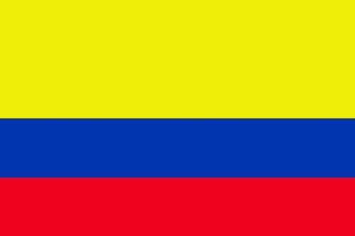 Planete Supporter Drapeau Colombie - 150 x 90 cm