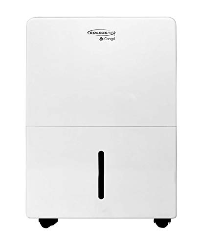 Soleus Air White 30-Pint Portable Dehumidifier