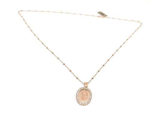 cadena de Plata con medalla VIRGEN