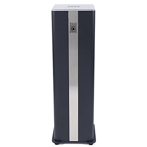 Atomization Aromatherapy Diffuser, Black Cuboid Smart Scent Air Machine Essential Oil Aroma Diffuser Humidifier Fragrance Nebulizing Machine No-Water Large Capacity for Home Business Office