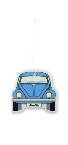 BRISA VW Collection - Volkswagen Coccinelle Voiture Beetle Désodorisant, Distributeur de Odeur, Diffuseur de parfumé, Arbre pour la Voiture/Véhicule (Fresh/Bleu)