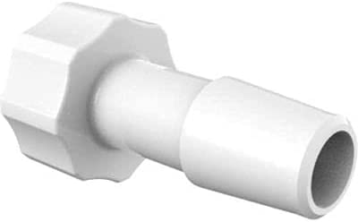 Eldon James Large Bore Male Luer Online limited product CrystalVu Pac Max 55% OFF Barb 5 16