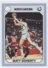 Matt Doherty (Trading Card) 1990 Collegiate Collection North Carolina Tar Heels - [Base] #65