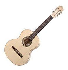 Hopf/Hellweg Classic Junior II SH Gitarre (Schüler-Gitarre, ideal für das Alter von 8-11 Jahre) Naturhell
